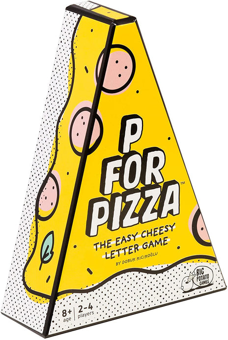 P for Pizza - The easy cheesy letter game by Big Potato.