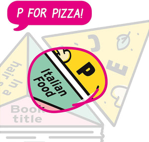 p is for pizza! A brilliant card game for all the family by Big Potato Games