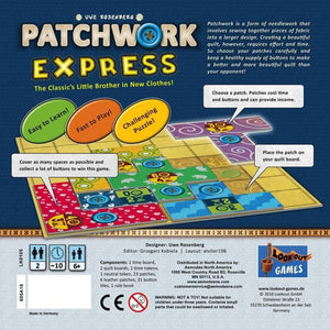 Patchwork Express - Boardhoarders
