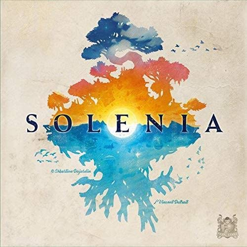 Solenia board game by Designer Sébastien Dujardin and published by Pearl Games