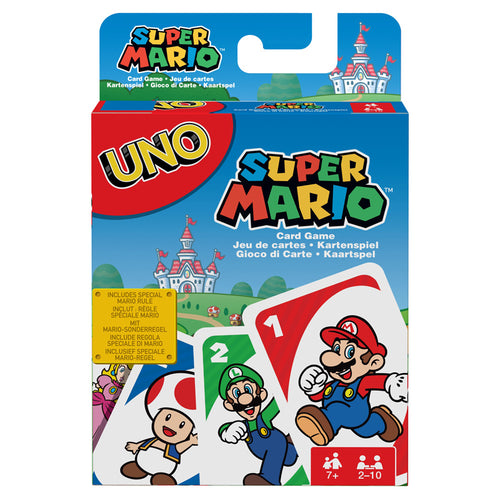 Super Mario UNO card game