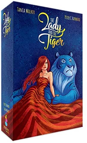 "Inspired by the classic short story ""The Lady or the Tiger?"" by Frank R. Stockton, this beautifully illustrated card game offers five games in one!"