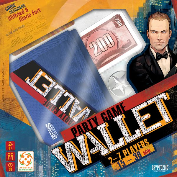 Wallet is a fun party game for age 8 + for 2-7 players.