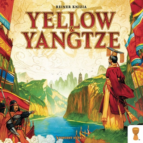 Yellow & Yangtze Board Game by Reiner Knizia