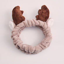 Load image into Gallery viewer, #FaceMaskFriday Holiday Reindeer Antler Headband