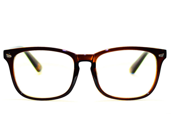BROWN UNISEX BLUE LIGHT BLOCKING GLASSES