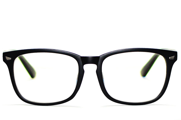 MATTE BLACK UNISEX BLUE LIGHT BLOCKING GLASSES
