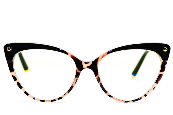 TORTOISE CAT EYE BLUE LIGHT BLOCKING GLASSES