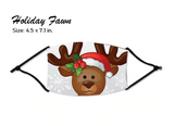 Christmas 2020/Happy New Year 2021 Cloth Face Masks