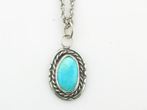 "Turquoise ""Twisted"" Necklace"