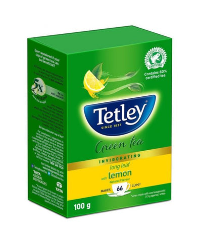 Tetley Green Tea (Long Leaf) 100 G
