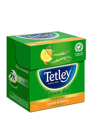 Tetley Lemon and Honey Green Tea - 25 Bags