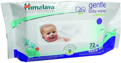 Himalaya baby wipes- 72 pieces