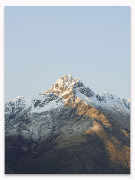 Winter Mountains No. 1 Printable Poster by Hello Emilie