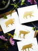 Elk Gold Foil Card