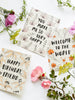 So Happy For You Modern Floral Card