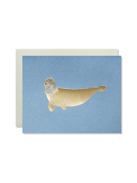 Seal Gold Foil Card