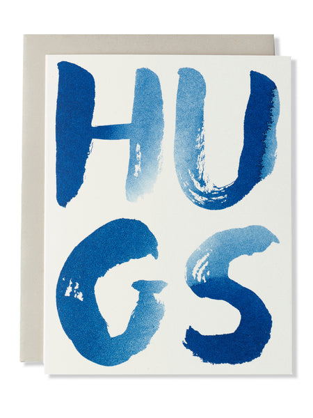 Hugs Indigo Card