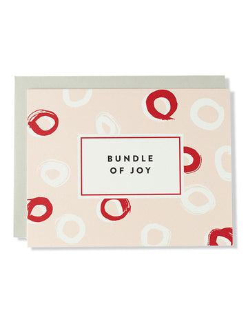 Bundle Of Joy Bright Brush Card