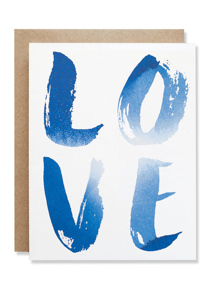 Love Indigo Card