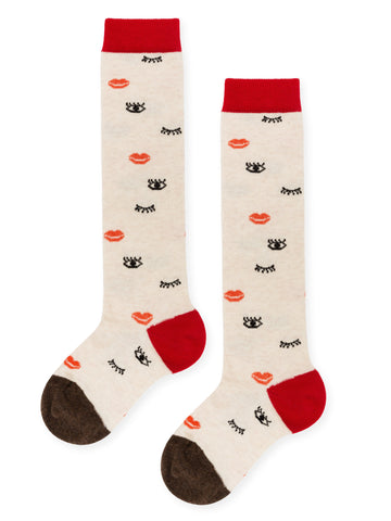 Mini Kissypoo Knee Hi Socks (Kids)
