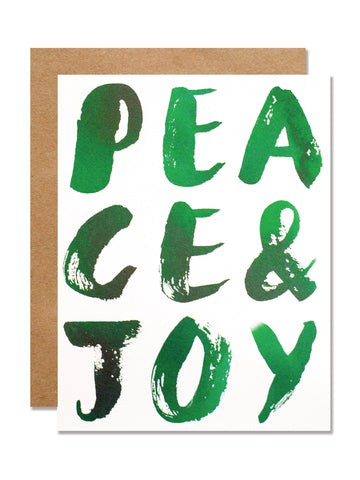 Peace & Joy Card