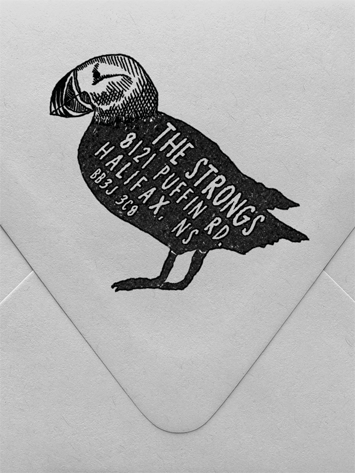 Puffin Custom Stamp