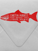 Salmon Custom Stamp