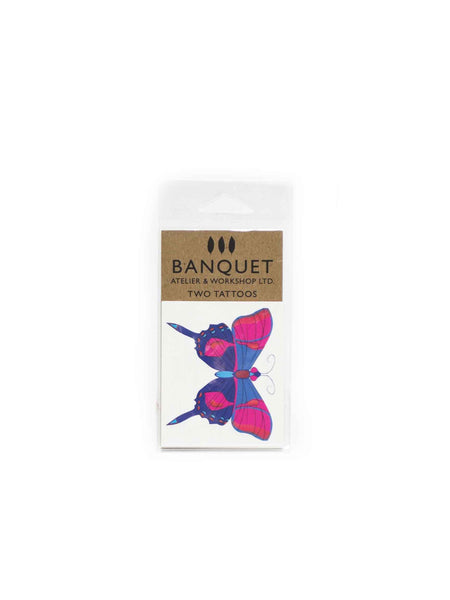 Butterfly Temporary Tattoos (Set of 2)