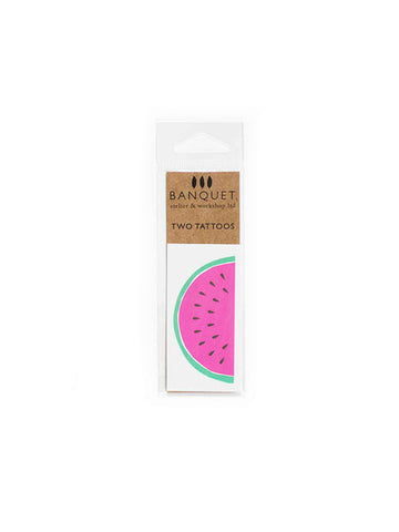 Watermelon Temporary Tattoos (Set of 2)