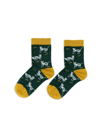 Mini Alley Cat Crew Socks (Kids)