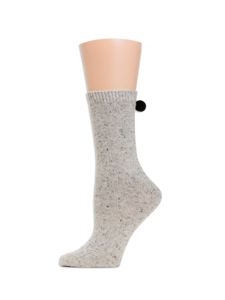 Heidi Crew Sock Heather