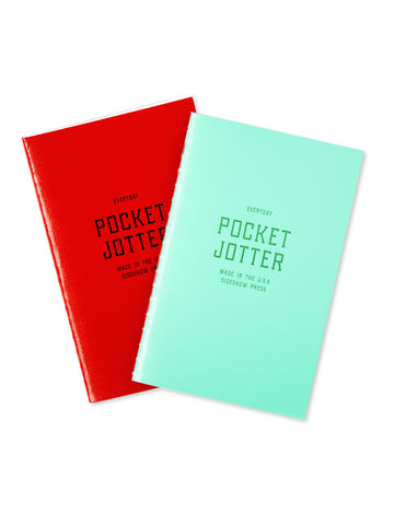 Pocket Jotters, Set of 2: Cherry and Spearmint