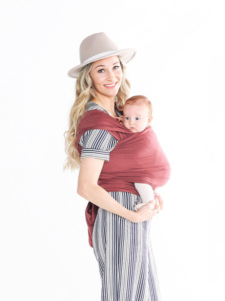 Solly Baby Wrap: Ox Blood