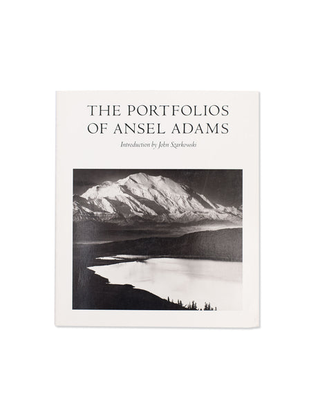 Vintage Book: The Portfolios Of Ansel Adams