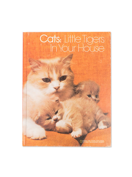 Vintage Book: Cats: Little Tigers In Your House by Linda McCarter Bridge