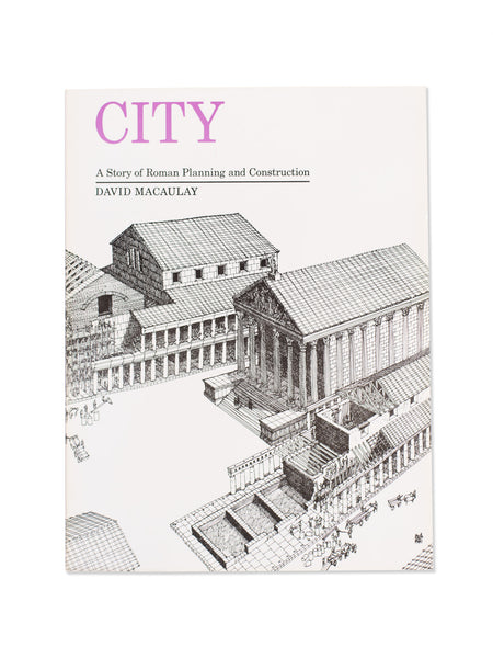 Vintage Book: City by David Macaulay