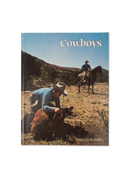 Vintage Book: Cowboys by Philip B. Silcott
