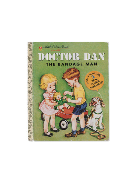 Found Book: Doctor Dan The Bandage Man by Helen Gaspard