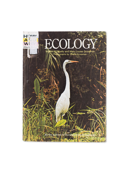 Vintage Book: Ecology by Shelly and Mary Louise Grossman