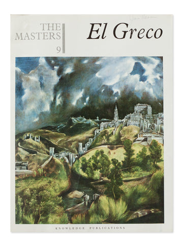 Vintage Book: El Greco By Sir John Rothenstein