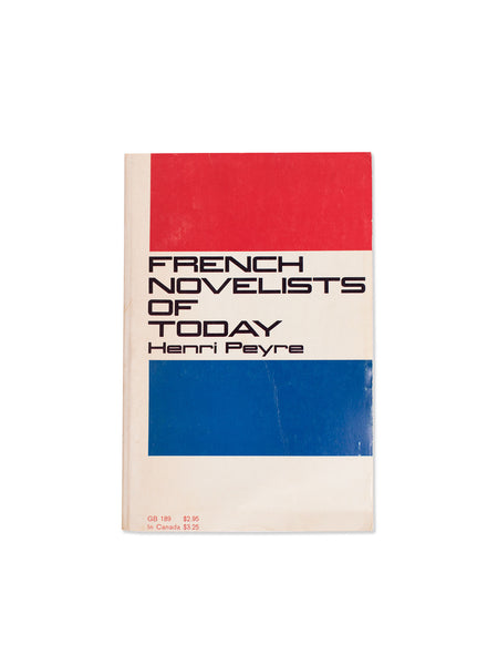Vintage Book: French Novelists Of Today by Henri Peyre