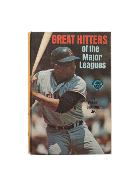 Vintage Book: Great Hitters of the Major Leagues by Frank Graham Jr.