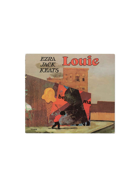 Vintage Book: Louie by Ezra Jack Keats