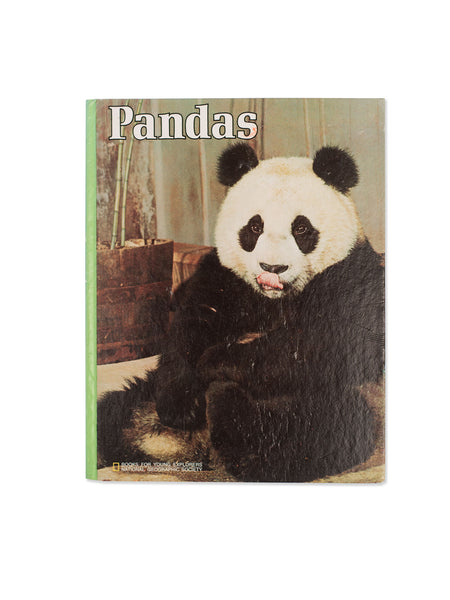 Vintage Book: Pandas by Donna K. Grosvenor