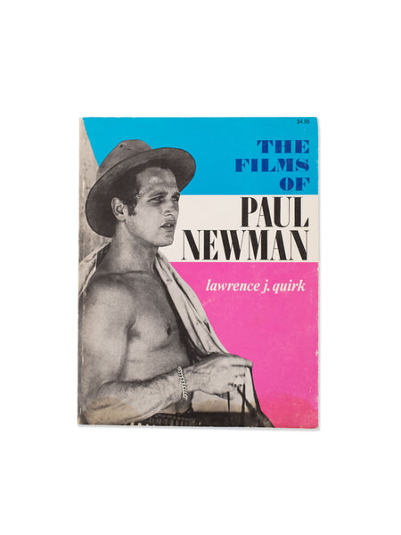 Vintage Book: The Films Of Paul Newman by Lawrence J. Quirk