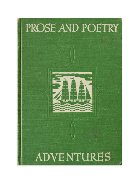 Vintage Book: Prose And Poetry Adventures By J. Kenner Agnew