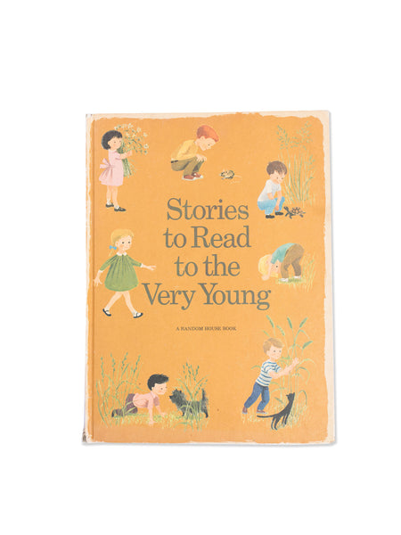 Vintage Book: Stories To Read To The Very Young