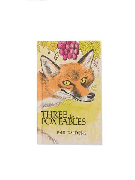 Vintage Book: Three Aesop Fox Fables by Paul Galdone