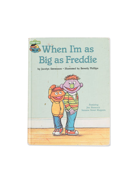 Vintage Book: When I'm As Big As Freddie by Jocelyn Stevenson